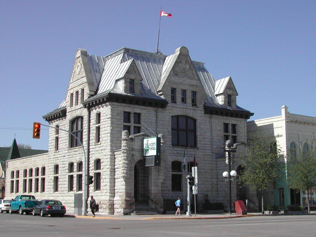 picture of City Hall in Portage la Prairie, Manitoba