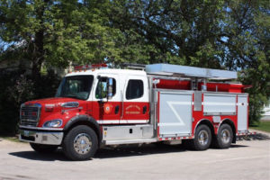 picture of a City of Portage la Prairie Fire Engine
