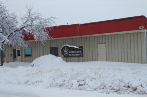 picture of City of Portage la Prairie Operations Office in winter