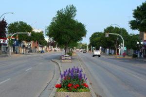 picture of downtown Portage la Prairie