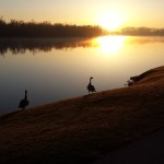 Crescent Lake Sunrise