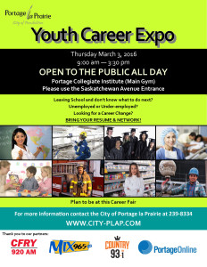 Youth Career Expo Poster 2016