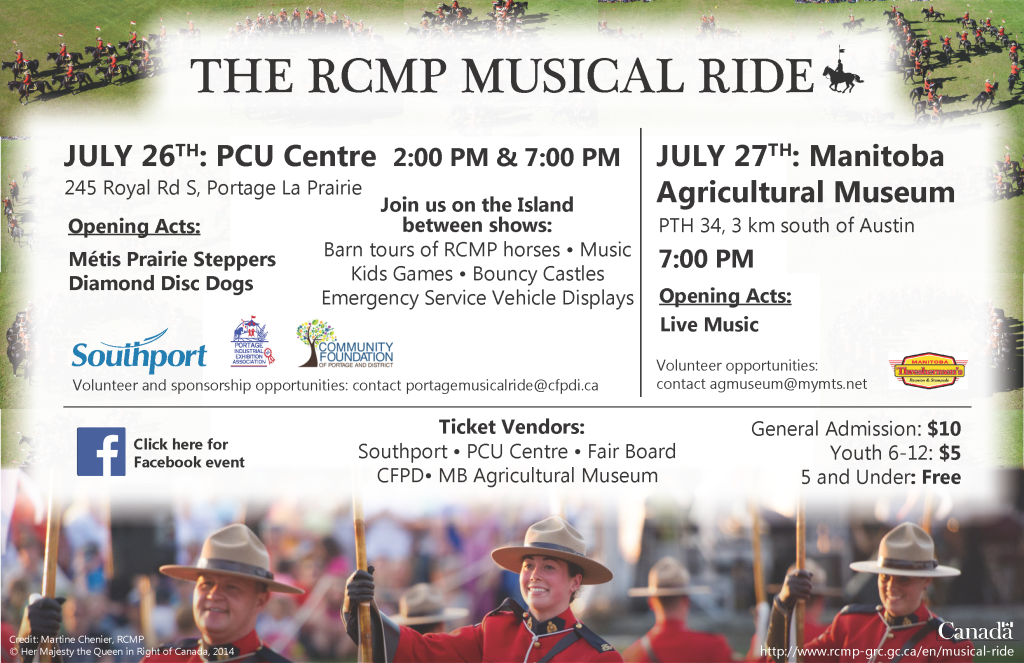 RCMP Musical Ride E-Poster1 July 4