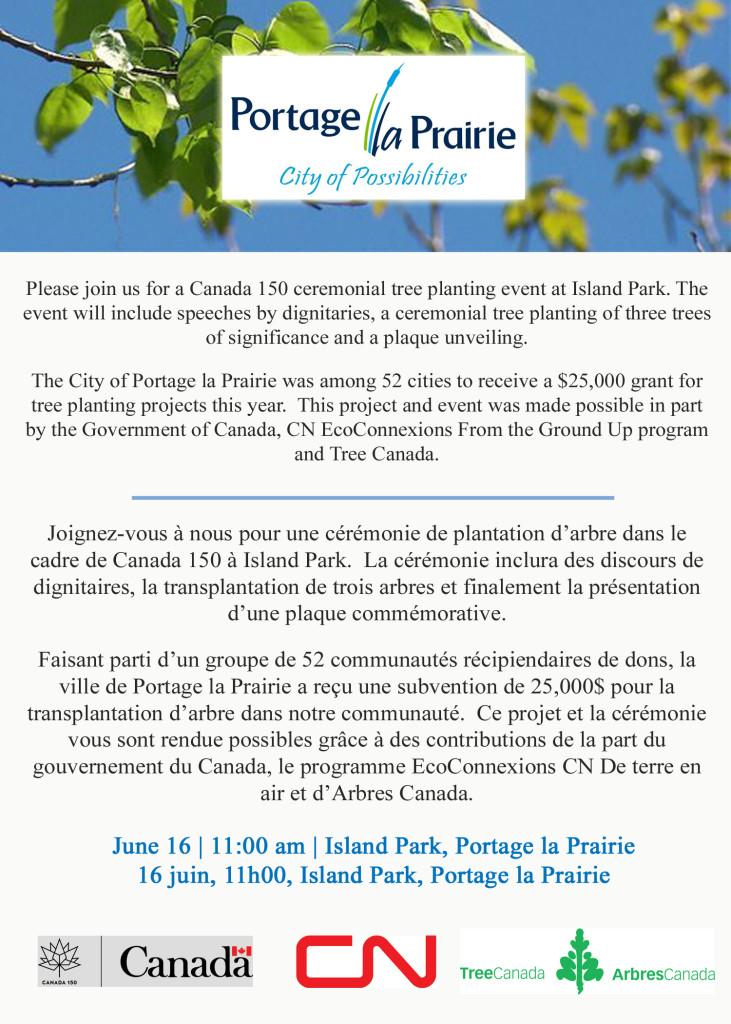 Canada 150 tree planting ad 2